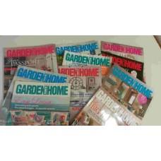 Garden & Home Magazines x10