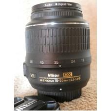 Nikkor 18-55mm lens