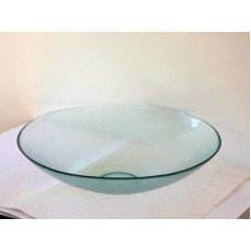 Frosted Glass Bowl, Large