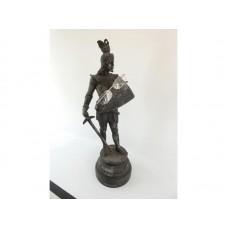 Antique Pewter Figurine