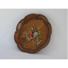 Bauernmalerei Wooden Plate