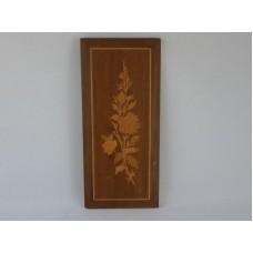 Wooden Inlay Portrait