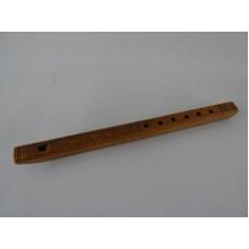 Wood Carved Flute